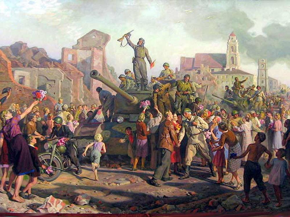 Памятная дата военной истории Отечества - 3 июля, освобождение Минска